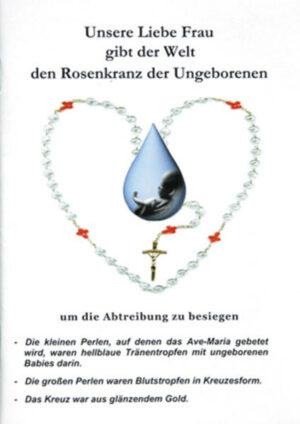 Unsere Liebe Frau gibt der Welt den Rosenkranz der Ungeborenen | Bundesamt für magische Wesen