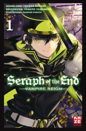 Seraph of the End 01: Vampire Reign