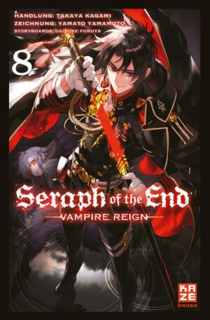 Seraph of the End 08: Vampire Reign