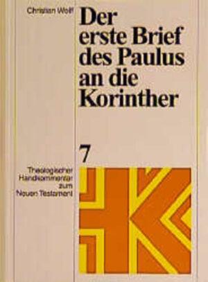 Theologischer Handkommentar zum Neuen Testament / Der erste Brief des Paulus an die Korinther   Bundesamt für magische Wesen