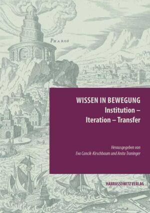Wissen in Bewegung. Institution – Iteration – Transfer   Bundesamt für magische Wesen