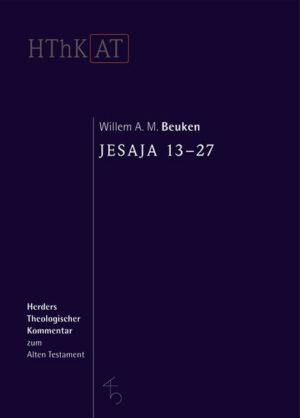 Herders theologischer Kommentar zum Alten Testament / Jesaja 13-27   Bundesamt für magische Wesen