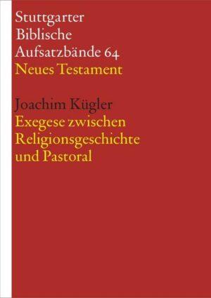 Exegese zwischen Religionsgeschichte und Pastoral | Bundesamt für magische Wesen