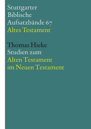 Studien zum Alten Testament im Neuen Testament | Bundesamt für magische Wesen