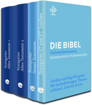 Stuttgarter Altes + Neues Testament + Lexikon im Paket | Bundesamt für magische Wesen