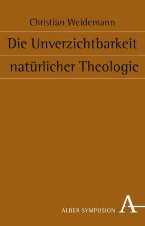 Die Unverzichtbarkeit natürlicher Theologie   Bundesamt für magische Wesen