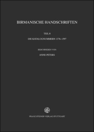 Burmese Manuscripts / Birmanische Handschriften