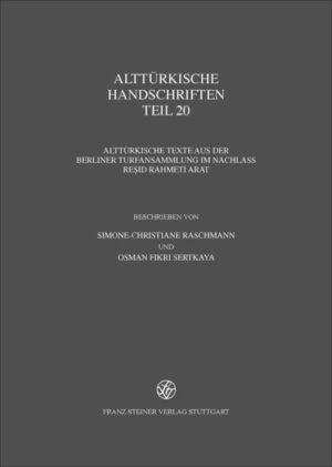 Alttürkische Handschriften