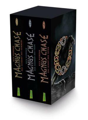 Magnus Chase: Magnus-Chase-Schuber (3 Bände im Taschenbuch-Schuber) | Bundesamt für magische Wesen