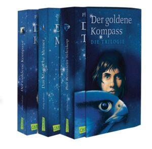 His Dark Materials: Der Goldene Kompass, Das Magische Messer und Das Bernstein-Teleskop im Schuber