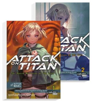 Attack On Titan - The Harsh Mistress of the City Doppelpack 1-2