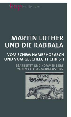 Martin Luther und die Kabbala   Bundesamt für magische Wesen