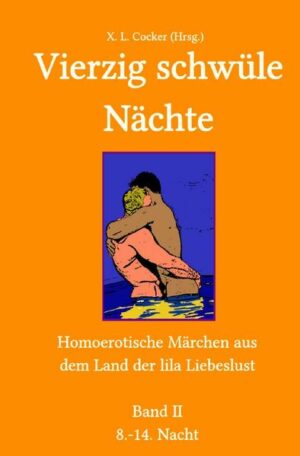 Vierzig schwüle Nächte: Vierzig schwüle Nächte (Band II): Homoerotische Märchen aus dem Land der lila Liebeslust
