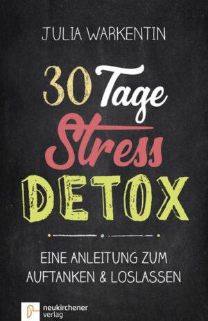 30 Tage Stress-Detox Eine Anleitung zum Auftanken und Loslassen