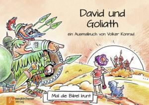 5er-Pack: Mal die Bibel bunt - David und Goliat ein Ausmalbuch von Volker Konrad