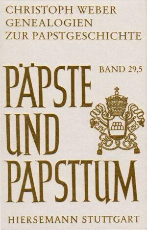 Genealogien zur Papstgeschichte   Bundesamt für magische Wesen