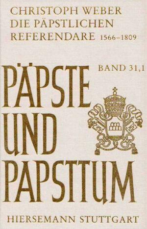 Die päpstlichen Referendare 1566-1809   Bundesamt für magische Wesen