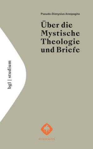 Über die Mystische Theologie und Briefe   Bundesamt für magische Wesen