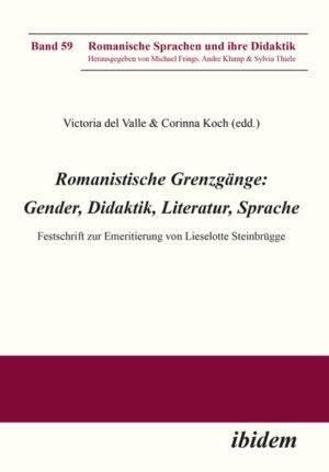 Romanistische Grenzgänge: Gender