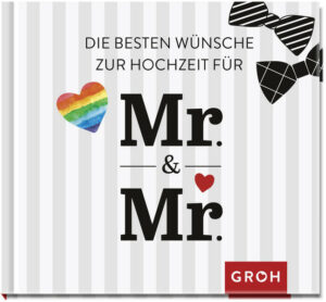 Die besten Wünsche zur Hochzeit für Mr. & Mr.
