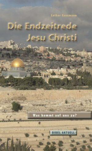 Die Endzeitrede Jesu Christi   Bundesamt für magische Wesen