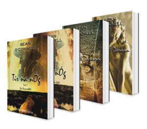 Tír na nÓg und Túatha Dé Danann. Die komplette Endzeit-Saga in einem Bundle (Der Auserwählte / Das Schicksal der Welt / Sternenheim / Nekropolis) | Bundesamt für magische Wesen