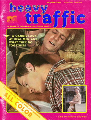 Heavy Traffic - Vintage Porn Covers