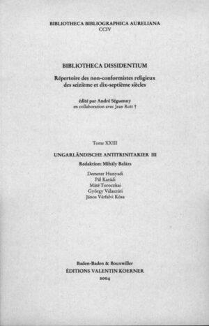 Bibliotheca Dissidentium XXIII   Bundesamt für magische Wesen