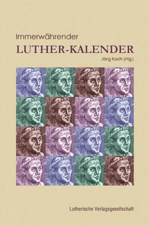 Immerwährender Luther-Kalender   Bundesamt für magische Wesen