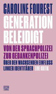 Die feministische Publizistin Caroline Fourest setzt sich anhand konkreter Vorkommnisse und Debatten mit einer gefährlich irrationalistischen Strömung der Identitätspolitik auseinander, die inzwischen auch an europäischen Unis die Hegemonie zu erlangen versucht. Generation beleidigt
