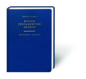 Novum Testamentum Graece - Das Neue Testament griechisch-deutsch   Bundesamt für magische Wesen