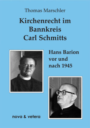 Kirchenrecht im Bannkreis Carl Schmitts   Bundesamt für magische Wesen