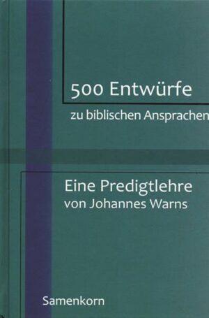 500 Entwürfe zu biblischen Ansprachen   Bundesamt für magische Wesen