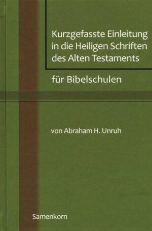 Kurzgefasste Einleitung in die Heiligen Schriften des Alten Testaments für Bibelschulen   Bundesamt für magische Wesen