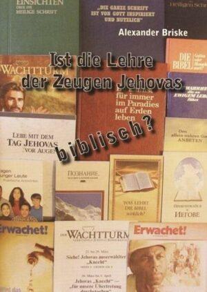 Ist die Lehre der Zeugen Jehovas biblisch?   Bundesamt für magische Wesen