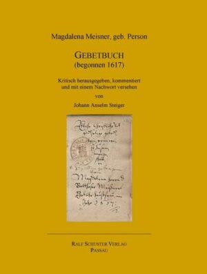 Gebetbuch (begonnen 1617) | Bundesamt für magische Wesen