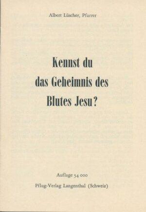 Kennst du das Geheimnis des Blutes Jesu?   Bundesamt für magische Wesen