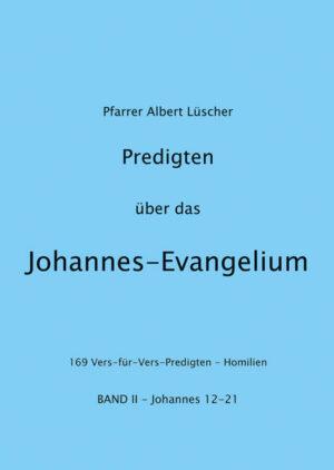 Predigten über das Johannes-Evangelium   Bundesamt für magische Wesen