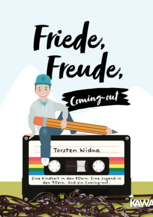 Friede, Freude, Coming-out: Eine Kindheit in den 80ern. Eine Jugend in den 90ern. Und ein Coming-out.
