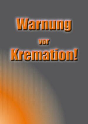 Warnung vor Kremation   Bundesamt für magische Wesen
