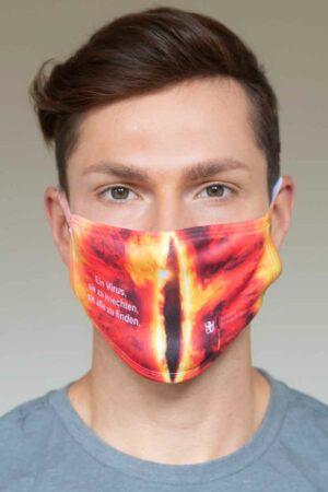 """Bundeslurch-Maske """"Ein Virus, sie zu knechten, sie alle zu finden"""""""
