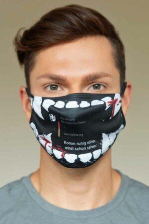 """Bundeslurch-Maske """"Vampir: Komm ruhig näher ..."""""""