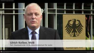 BMJ-Staatssekretär begrüßt die Teilnehmer der G8-Konferenz der magischen Reiche