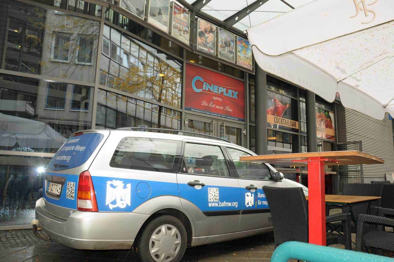 Das BAfmW bei der Cineplex Tagung in Kassel. (Foto: Bundesamt für magische Wesen)