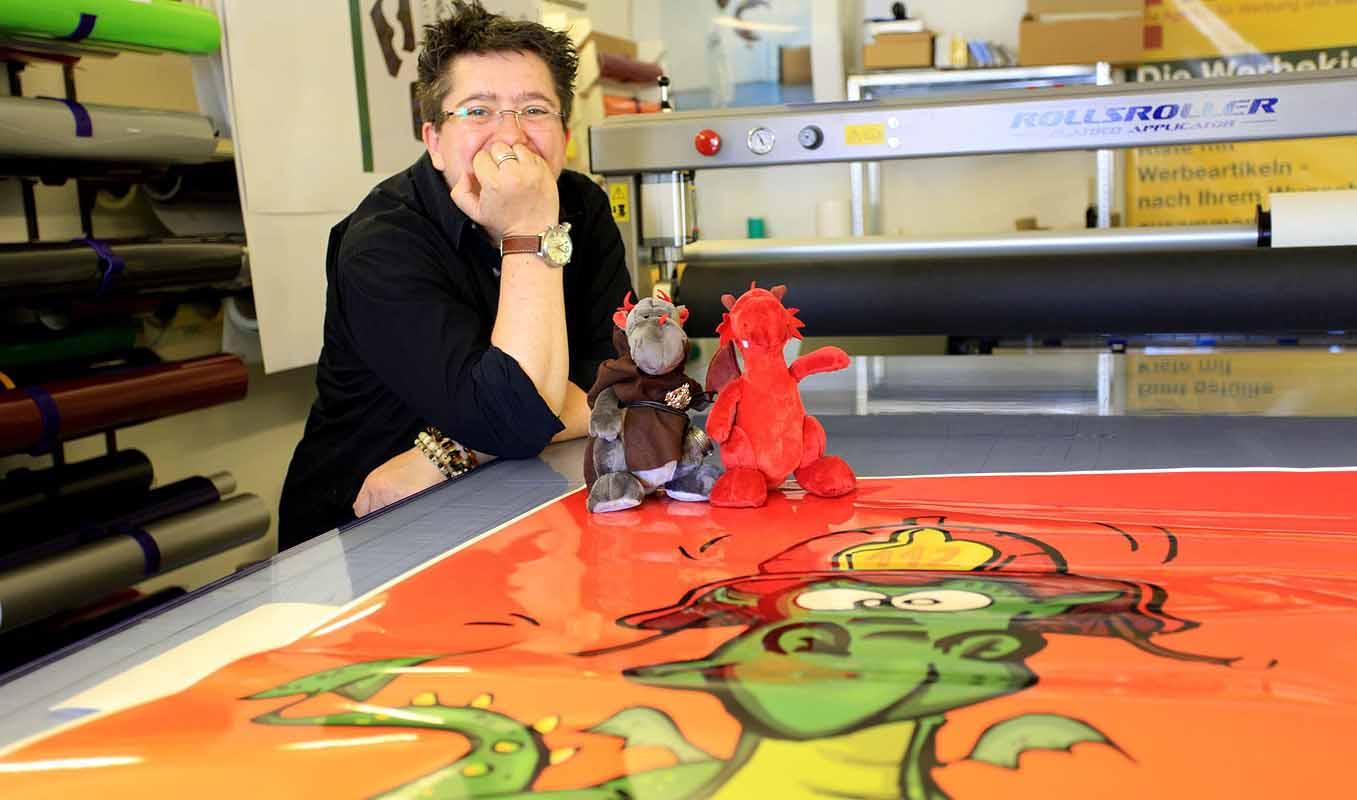 Drachen in Werdohl bei Tanja Graumann