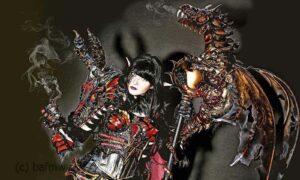 Drachenmeisterin Shadya kommt aus einem fernen Reich. Dort existieren seit Urzeiten Drachen, die in Harmonie mit den anderen Völkern leben.