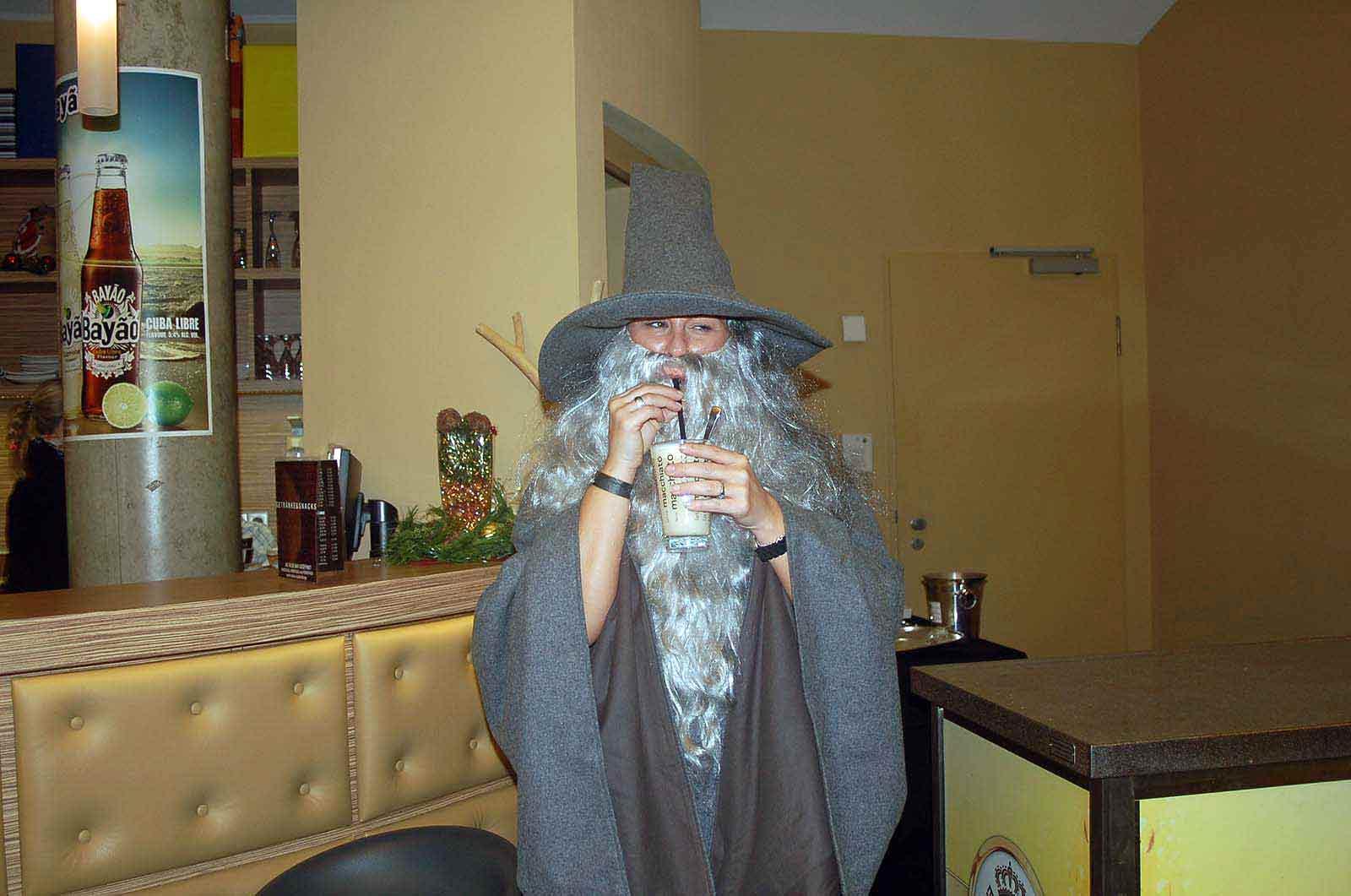 Gandalf im Cineplex Singen