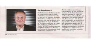 Der Bundeslurch im Spiegel 27-2015