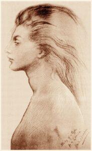 Ein Portrait von Lamia, Sprecherin der Infernalischen Kongregation