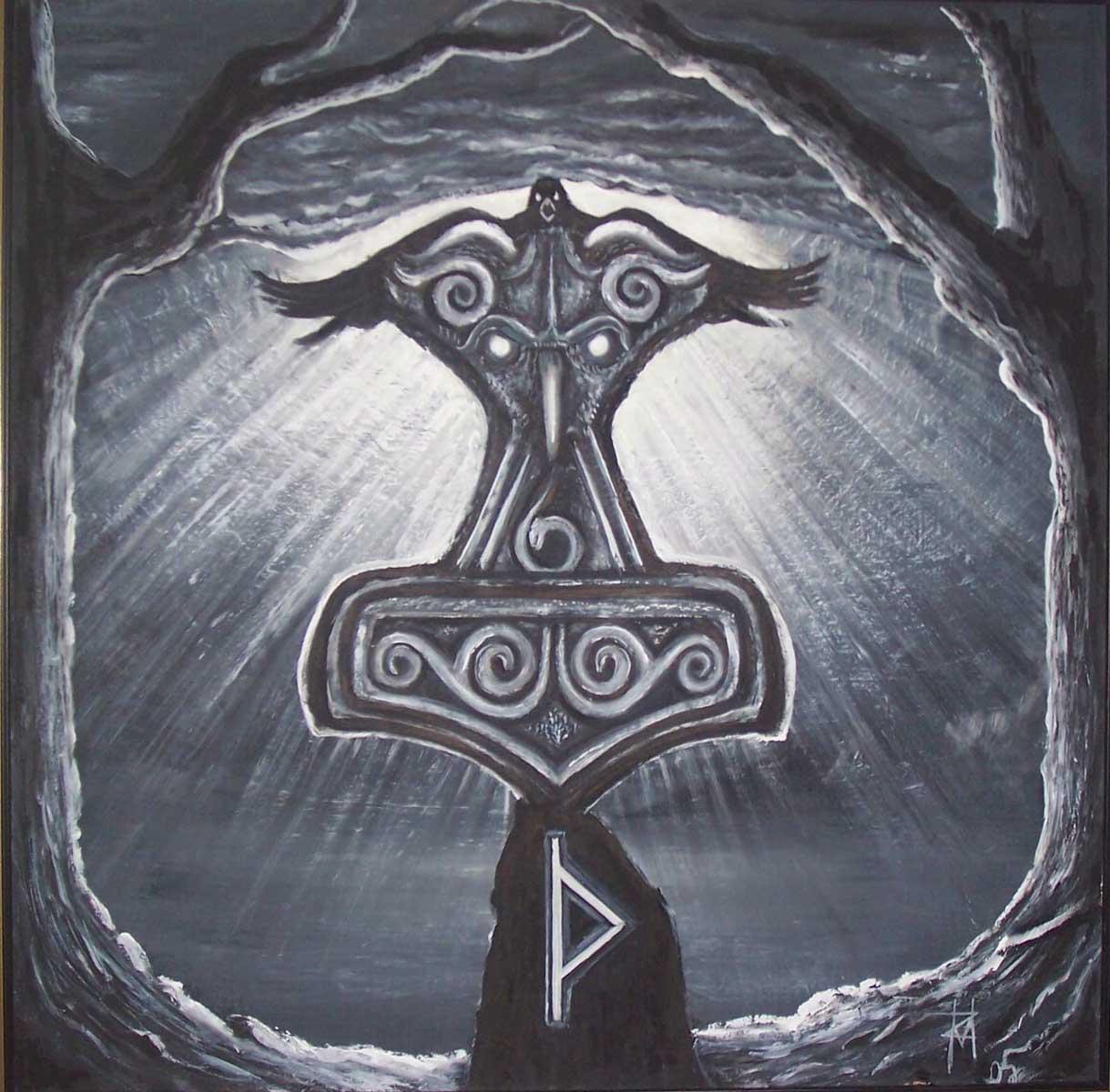 Mjolnir (Quelle: Mythology Wiki)